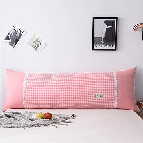 Lanrui Keil Bett Kissen for Erhöhte Schlafen Große Padded-Kissen-Kissen Positionierung Unterstützung Rückenlehne mit Kissen Side Lesekissen Lendenkissen 120x22x50cm