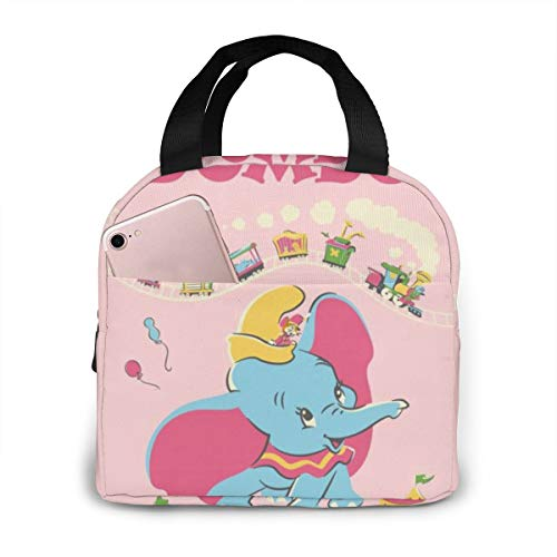 Outdoor Insulated Durable Lunch Box Cooler Box Meal Dumbo Lunchbox Tote Bag Camping, Travel, Fishing For Woman Man Kids