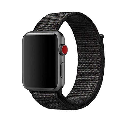 Recambio Pulsera Repuesto Correa Compatible con Apple Watch DE Nylon para 42/44 MM IWATCH Ajustable