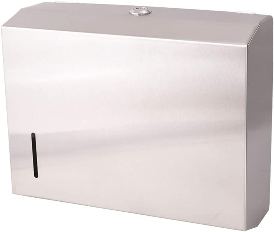 Outlet ☆ Free Shipping ZSP Paper Towel Dispenser Stainless Steel Max 79% OFF Wall Mounted Tow