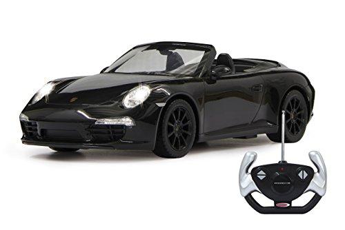 Jamara 403085 - Porsche 911 Carrera S 1:12, schwarz