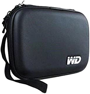 Pikaboo WD Hard Disk case for All Brand External Hard Drive Waterproof and Shock Proof (Black)