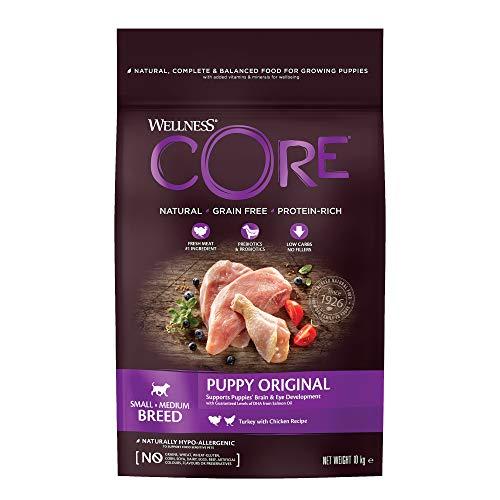Wellness CORE Puppy / Hundefutter Trocken für Welpen / Getreidefrei / Hoher Fleischanteil / Pute mit Huhn, 10 kg