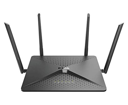D-Link WiFi Router, AC2600 Dual Band Gigabit 4K Streaming and Gaming with USB Ports, Wireless Internet for Home (DIR-882-US) (Renewed)