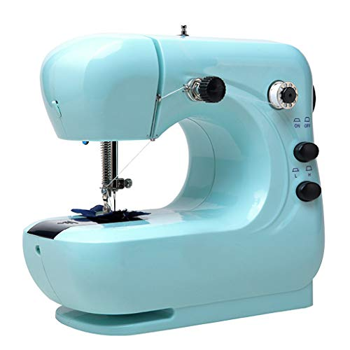Buy Thinktoo Mini Electric Sewing Machine Portable Household Sewing Machine Beginner for Sewing, Qui...