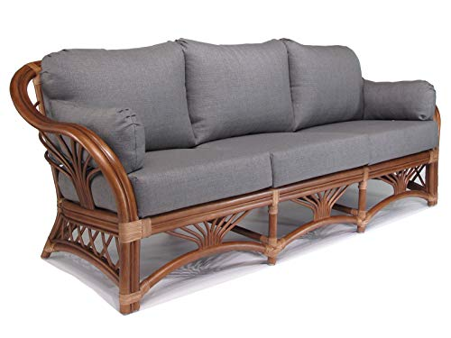 Rattan Living Room Furniture Sofa Couch (#1690AW-TI)