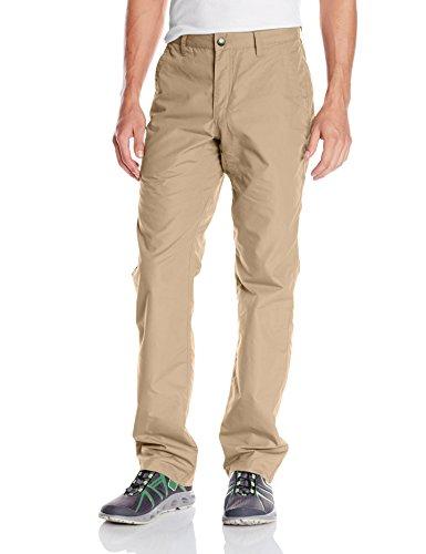 Mountain Khakis Men's Poplin Pant Slim Fit, Khaki, 35W/32-Inch