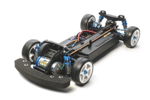 Tamiya XV-01 Pro Touring Car FRP (Plástico Reforzado con Fibra), Aluminio vehículo de Juguete - Vehículos de Juguete (FRP (Plástico Reforzado con Fibra), Aluminio, Negro, Azul, Niño, 1:10)