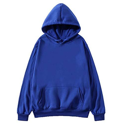 Sudadera con capucha para hombres y mujeres con capucha simple salvaje casual de tamaño grande versión de la cálida calle suelta