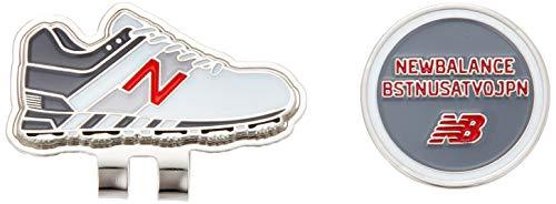 [ニューバランス ゴルフ] [継続定番商品] クリップマーカー (マーカー:25mm シューズ型) / 012-0984017 / ゴルフ マグネット 160_シルバー