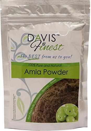 Davis meilleurs Amla Poudre–Soin naturel pour endommagés bouclés Cheveux ternes...