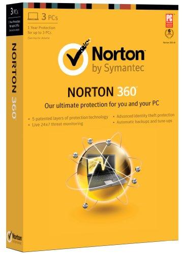 ノートン norton 360 最新版 2013 英語 3PC/1user シマンテック Symantec