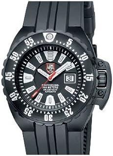Luminox - 1501 - Reloj analógico automático para Hombre, Correa de Goma Color Negro