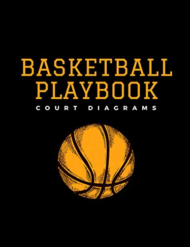 Basketball Playbook Court Diagrams: Coaching notebook - Blank strategy organizer and planner - Full 98 pages