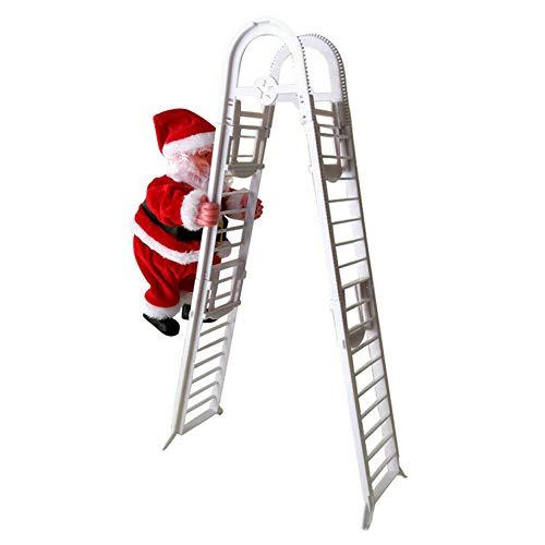 Giytoo elektrische Kerstman klimmen ladder pop muziek Kid speelgoed Xmas Decor Gift
