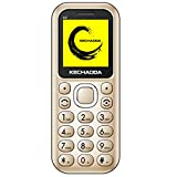 Kechaoda A32 Dual Sim Mobile Phone (Bluetooth Size,Gold, 16GB)