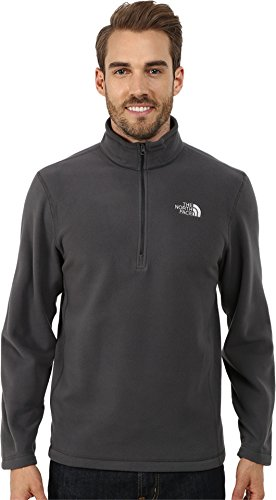 The North Face Men's TKA 100 Glacier 1/4 Zip TNF Black Sweatshirt LG