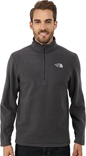 The North Face Men's TKA 100 Glacier 1/4 Zip TNF Black Sweatshirt LG