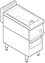 Sauteuse électrique - 15 litres - gamme 700 - Tecnoinox