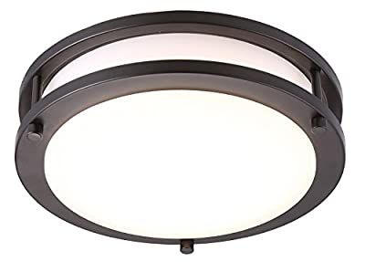 Cloudy Bay 10 inch ORB Flush Mount Ceiling Light