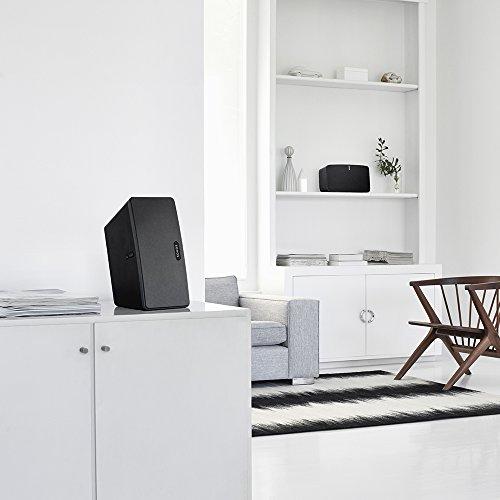 Sonos PLAY:3 I Vielseitiger Multiroom Smart Speaker für Wireless Music Streaming (schwarz) - 9