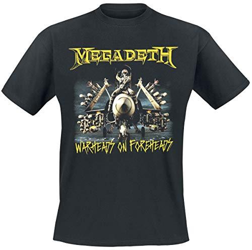 Megadeth Afterburn T-Shirt schwarz XXL