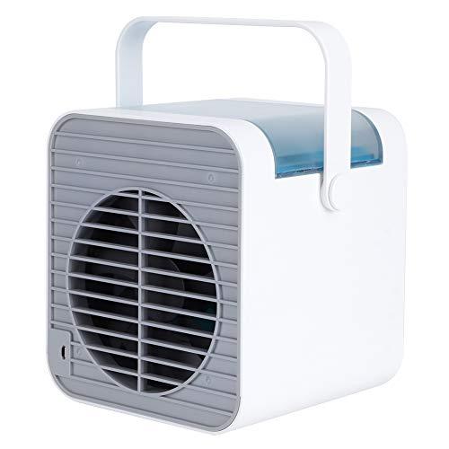 Nunafey Raffreddatore d'Aria, Ventola del condizionatore d'Aria Portatile Raffreddatore d'Aria evaporativo Ventola di Raffreddamento del condizionatore d'Aria alimentata a Batteria per Il Soggiorno