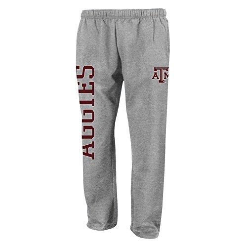 Elite Fan Shop Texas A&M Aggies Fleece Pant Heather Gray - XL - H Gray
