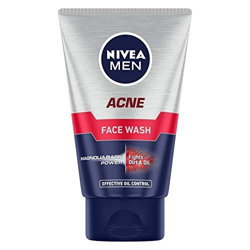 Nivea Men Acne Face Wash, 100g