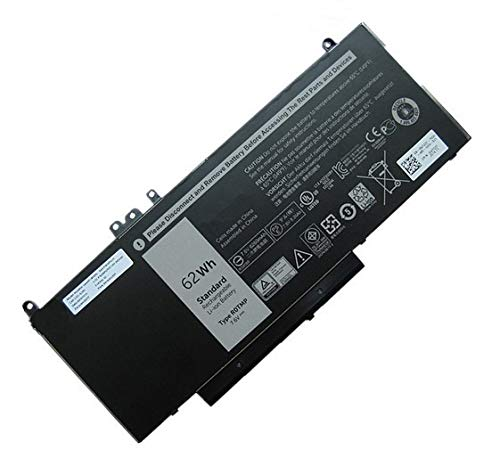 Szhyon Fit for 7.6V 62Wh Laptop Battery 6MT4T 7V69Y TXF9M 79VRK Compatible with Dell Latitude 14 5470 E5470 15 5570 E5570 15 3510 M3510