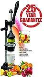 HIMMALYA Aluminum Wonderware Citrus Fruits Hand Press Juicer (Black)