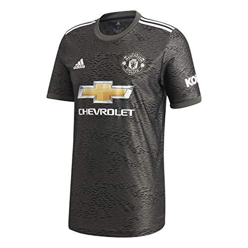 adidas Manchester United Temporada 2020/21 MUFC A JSY Camiseta Segunda equipación, Unisex,...