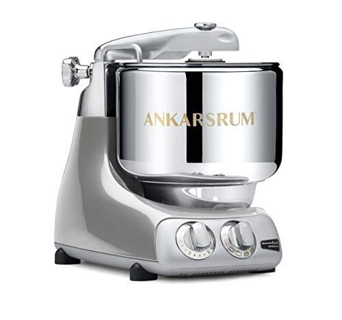 Ankarsrum 6230 SV Assistent Orginal Basis Küchenmaschine, Jubilee Silber