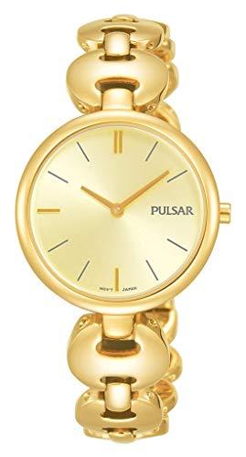 Pulsar dames analoog kwarts horloge met geen armband PM2266X1