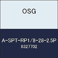 OSG ハイス管用平行タップ A-SPT-RP1/8-28-2.5P 商品番号 8327702