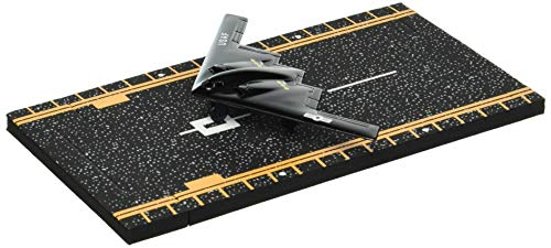 Hot Wings B-2 Spirit Stealth Bomber Jet with Connectible Runway