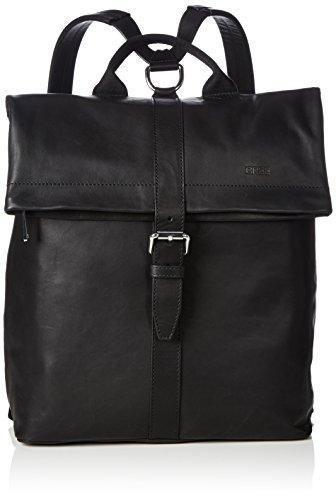 BREE Stockholm 13, black, backpack 184900013 Damen Rucksackhandtaschen 32x13x40 cm (B x H x T), Schwarz (black 900)