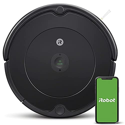 iRobot Roomba 692 Robot Vacuum-Wi-Fi Connectivity, Personalized Cleaning Recommendations, Works with Alexa, Good for Pet Hair, Carpets, Hard Floors, Self-Charging