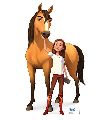 Advanced Graphics Spirit and Lucky Prescott Life Size Cardboard Cutout Standup - DreamWorks Spirit...