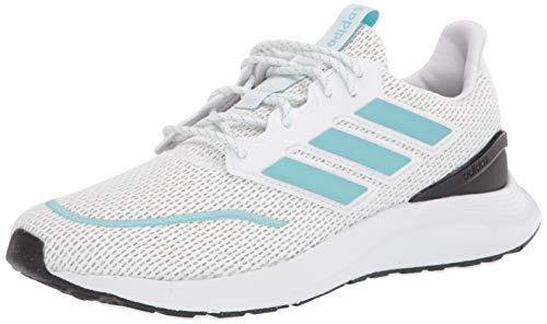 adidas Men's Energyfalcon Running Shoe, White/blue spirit/Dark Grey, 11 M US