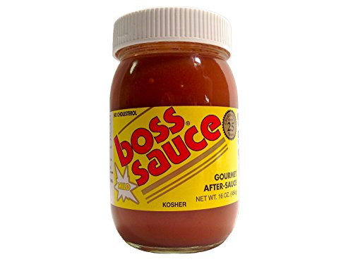 Price comparison product image Boss Sauce Gourmet After-Sauce MILD (one jar)