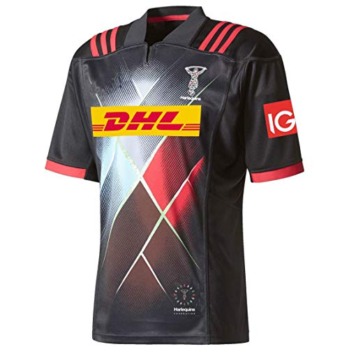JFIOSD 2021 Rugby Jersey,Hombre Casual Verano CháNdales,Al Aire Libre Camisas,Mujer Sports Polo Shirt,Negro,3XL