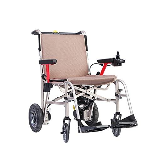 Elektrorollstuhl, Faltbarer Rollstuhl Falt- und Reisetier-Licht-elektrischer Rollstuhl Einklick-Falten kann auf das ebene Gewicht des gesamten Fahrzeugs angelegt werden 16.9kg Einhändig kann angehoben