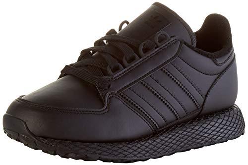 adidas Unisex-Kinder Forest Grove J Sneaker, Core Black/Core Black/Core Black, 38 2/3 EU