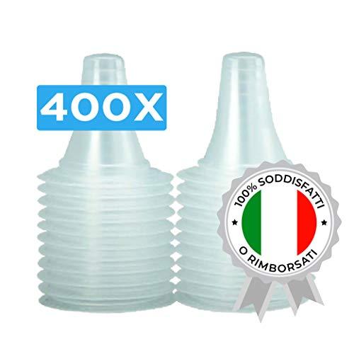 400x COPRISONDA TERMOMETRO AURICOLARE per tutti i Tipi di Termometri Auricolari/Braun ThermoScan IRT | Confezione da 400 Pezzi