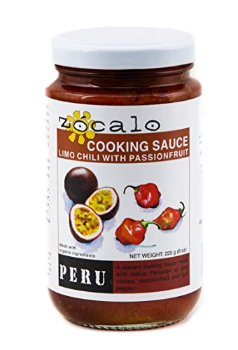 Zócalo Organic Aji Sauce - Limo Chili with Passionfruit (8 ounces)
