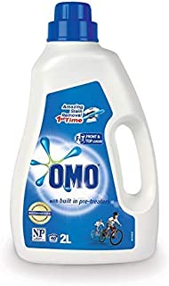 Omo Active Clean Laundry Liquid Detergent Front & Top Loader 2L