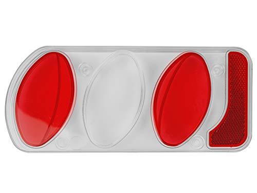 EUFAB 11501 Ersatzglas, neue Rauchglasversion