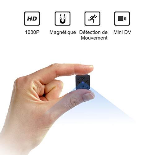 Mini Camera Espion,NIYPS Full HD 1080P Portable...