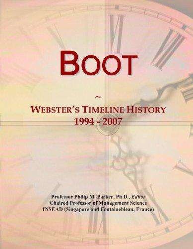 Boot: Webster's Timeline History, 1994 - 2007